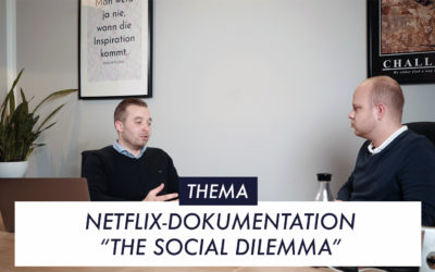 "Episode 1 Thema 2 Netflix-Doku ""The Social Dilemma"""