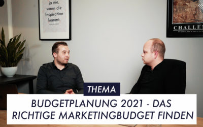 Episode 2 Thema 1 Budgetplanung 2021