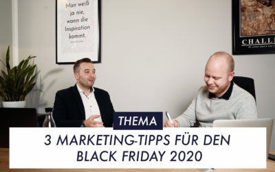3 wichtige Marketing-Tipps für den Black Friday 2020