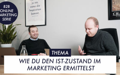 Wie Du den Ist-Zustand im Marketing ermittelst – B2B-Online-Marketing-Serie