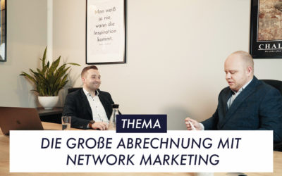 Die große Abrechnung mit Network Marketing