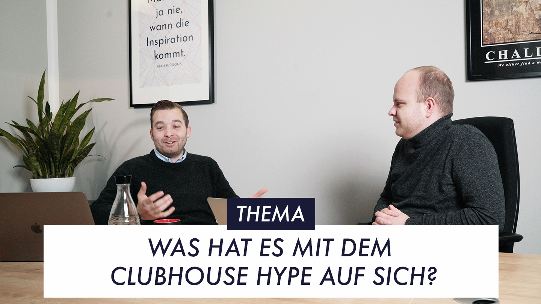 Thumbnail EP 9 Was hat es mit dem Clubhouse Hype auf sich