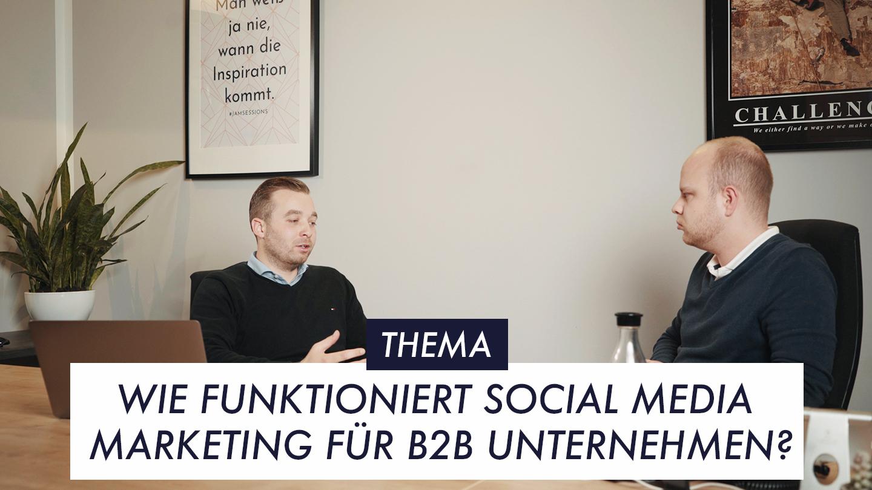 Thumbnail Episode 8 Social Media Marketing für B2B Unternehmen
