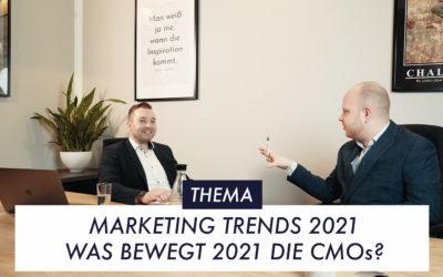 Marketing-Trends 2021: Was bewegt 2021 die CMOs?